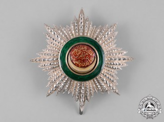 Turkey, Ottoman Empire. An Order of Osmani, II Class Star