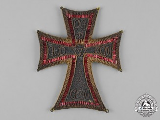 Denmark, Kingdom. An Order of Dannebrog, Commander Embroidered Star, c.1830