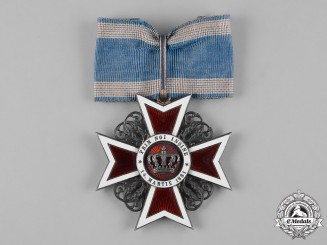 Romania, Kingdom. An Order of the Crown, Commander, Civil Division, by Rozet & Fischmeister, c.1910