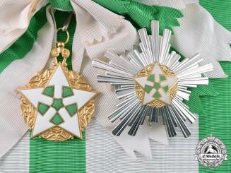 Syria, Republic. An Order of Civil Merit, Grant Cross, by Huguenin, c.1955