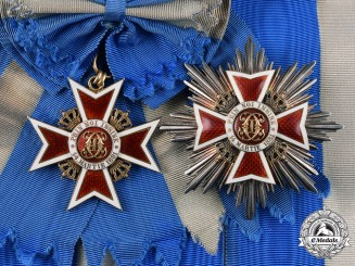 Romania, Kingdom. An Order of the Crown, Grand Cross, Civil Division, by Joseph Resch, c.1940