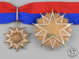 Chile. An Order of Bernardo O'Higgins, Commander Set