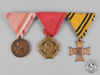 Austria, Empire. Three Medals & Awards
