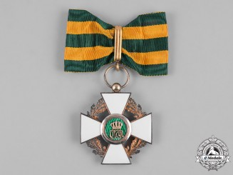 Luxembourg, Grand Duchy. An Order of the Oak Crown, III Class Commander, c.1910