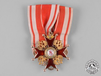 Russia, Imperial. An Order of Saint Stanislaus, IV Class, by Aleksandr Romanov, c.1900