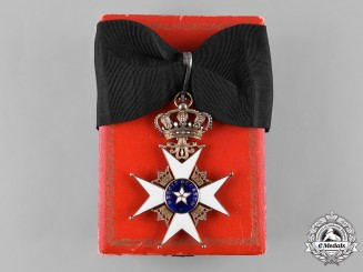 Sweden, Kingdom. An Order of the North Star, Commander's Badge, by C.F.Carlman