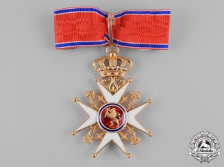 Norway, Kingdom. A Royal Order of Saint Olaf in Gold, I Class Commander, by J. Tostrup of Oslo, c.1900