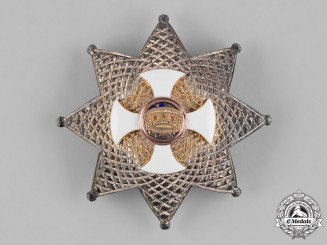Italy, Kingdom. An Order of the Crown, II Class Grand Officer Star