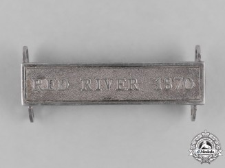 United Kingdom. A Red River 1870 Clasp for the Canada General Service Medal 1866-1870