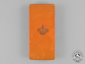 Netherlands, Kingdom. An Order of Orange-Nassau, IV Class Officer Case, Named