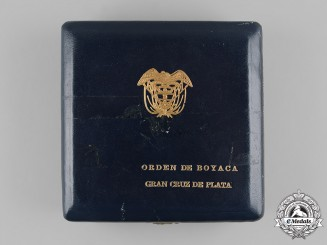Colombia, Republic. An Order of Boyacá, I Class Grand Cross Star Case