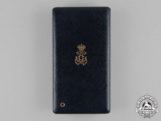 Belgium, Kingdom. An Order of Leopold, Officer's Case, by P. De Greef