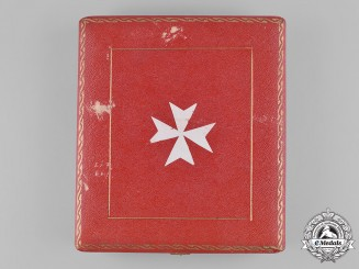 Italy, Kingdom. A Sovereign Military Hospitaller Order of Saint John of Jerusalem, Knight's Badge Case