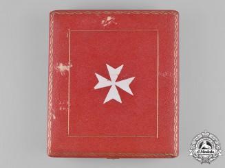 Italy, Kingdom. A Sovereign Military Hospitaller Order of Saint John of Jerusalem, Knight's Badge Case