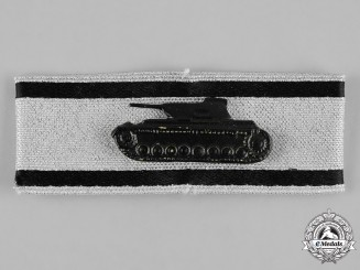 Germany, Federal Republic. A Tank Destruction Badge, Silver Grade, 1957 Version