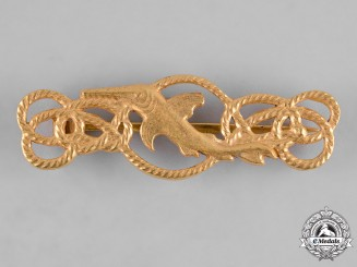 Germany, Federal Republic. A Small Battle United Clasp, Gold Grade, 1957 Version