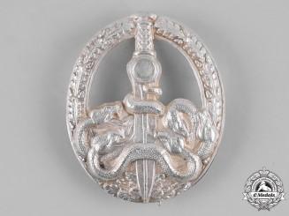 Germany, Federal Republic. A Bandit Warfare Badge, Silver Grade, 1957 Version