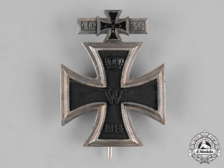 Germany, Federal Republic. A 1914 Iron Cross with Integrated 1939 Clasp, 1957 Version