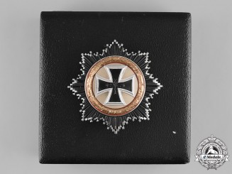Germany, Federal Republic. A Cased German Cross in Gold, 1957 Version
