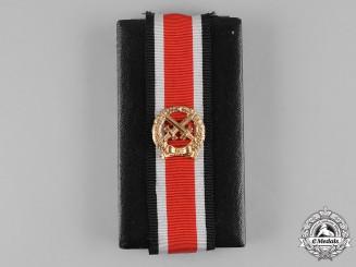 Germany, Federal Republic. A Cased Heer Honour Roll Clasp, 1957 Version, by Hans Brüggemann