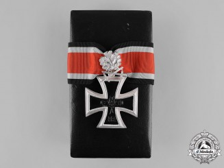 Germany, Federal Republic. A Case Knight's Cross of the Iron Cross, with Oak Leaves and Swords, 1957 Version