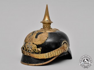 Prussia, Kingdom. An Infantry Reserve Officer's Pickelhaube