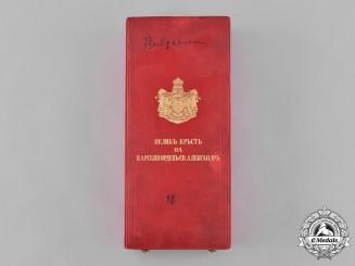 Bulgaria, Kingdom. An Order of St. Alexander, I Class Grand Cross Case