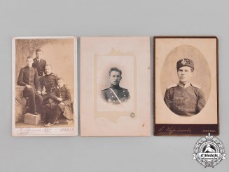 Russia, Imperial. A Lot of Studio Portraits of Imperial Russian Army Personnel