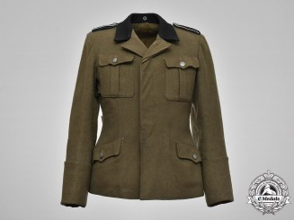 Germany, SS. A Late-War Waffen-SS Infantry Mann Service Tunic