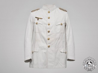 Germany, Kriegsmarine. An Engineer Fregattenkapitän Summer Tunic