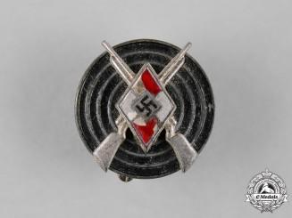 Germany, HJ. A Marksmanship Badge, by Wilhelm Deumer