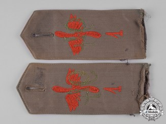 Germany, Imperial. A Set of Converted Flieger Ersatz Abteilung 1 Shoulder Straps
