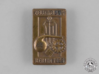Germany, Third Reich. A Zellcheming Berlin 1938 Event Badge