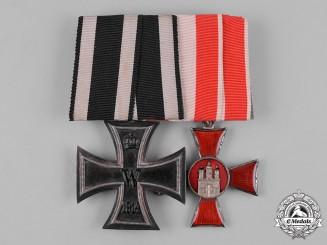 Germany, Imperial. A Hamburg Hanseatic Cross Medal Pair