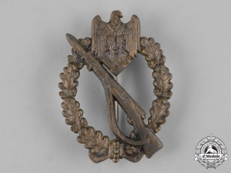 Germany, Wehrmacht. A Bronze Grade Infantry Assault Badge