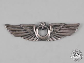 Turkey, Republic. An Air Force Pilot Badge, c.1950