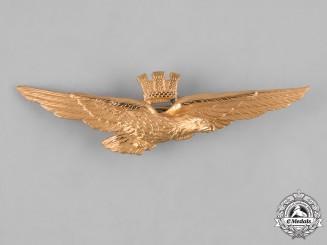 Italy, Republic. An Air Force Pilot Badge