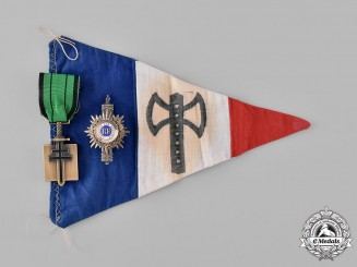 France, III Republic. A Lot of Second War Period Items