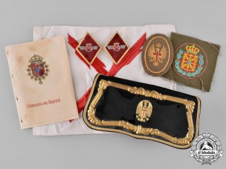 Spain, Fascist State. A Lot of Spanish Army and Air Force Insignia