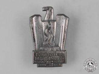 Germany, NSDAP. A 1935 Gau Franken Meeting Badge