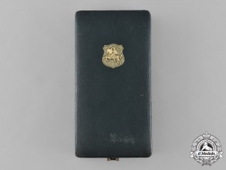 Lithuania, Republic. An Order of Grand Duke Gediminas, I Class Case, by Hugeunin Frères