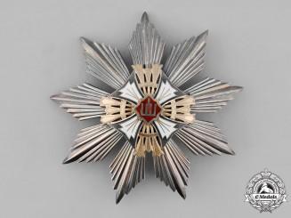 Lithuania, Republic. An Order of Grand Duke Gediminas, II Class Star, c.1935