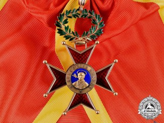 Vatican. A Pontifical Equestrian Order of St. Gregory in Gold, I Class Grand Cross, c.1900