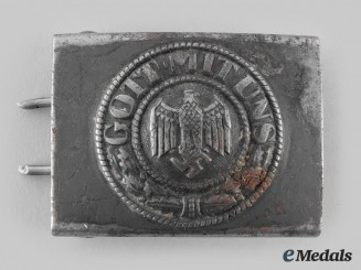 Germany, Heer. An Army EM/NCO Belt Buckle, by Berg & Nolte