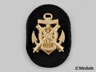 Germany, Kriegsmarine. An Artillery Mechanic NCO Career Sleeve Insignia