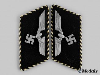 Germany, Reichsbahn. A Pair of Reichsbahn NCO Paygroup 12-17 Collar Tabs