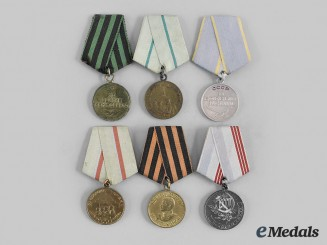 Russia, Soviet Union. A Lot of Veteran's Medals