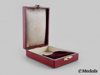 Sweden, Kingdom. A Royal Order of the Sword Commander II Class Case