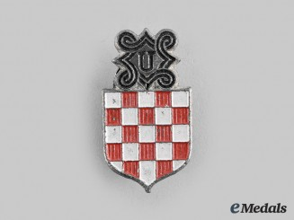 Croatia, Independent State.  A Ustasha Badge