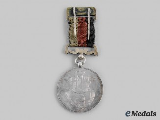 Afghanistan, Kingdom. A Medal for National Buzkashi Championship 1919 (1338 AH)